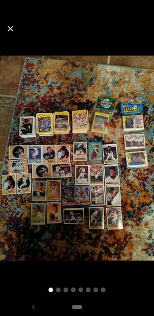 Baseball card collection for Sale in Mansfield, TX