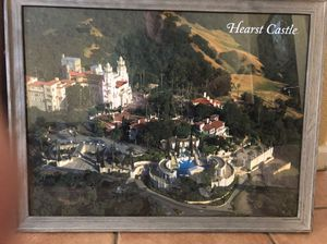 Framed picture of Hearst Castle for Sale in Roseville, CA