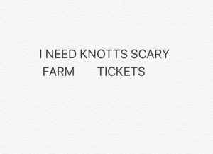 KNOTTS SCARY FARM for Sale in Los Angeles, CA