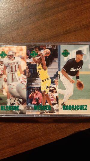 1993 Classic Games Inc. Drew Bledsoe, Chris Webber, Alex Rodriguez for Sale in Clarksburg, WV