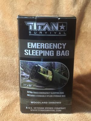 "Titan Survival Emergency Sleeping Bag 31""x 86"" for Sale in Oakfield, TN"