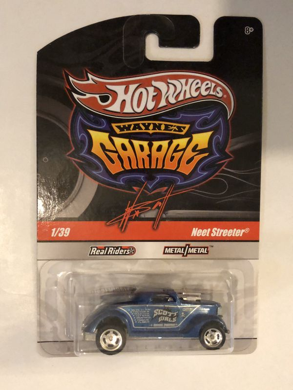 Hot Wheels Garage Neet Streeter w/ Real Rider Tires