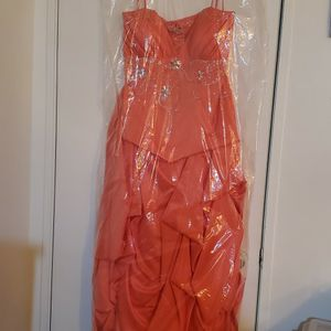 Prom Dress And Petticoat for Sale in Las Vegas, NV
