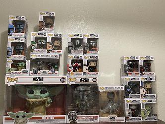 Star Wars/Mandalorian Funko Pops. for Sale in Waco,  TX