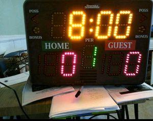 Basketball Portable Scoreboard for Sale in North Providence, RI