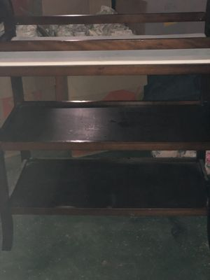 Crib and changing table. Crib changes to toddler bed for Sale in Manchester, CT
