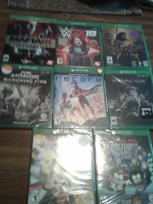 Xbox One Games all New Sealed for Sale in Hopewell, VA