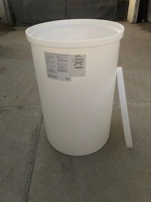 Plastic drum barrel holds 100 gallons for Sale in Los Angeles, CA