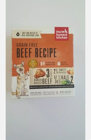 The Honest Kitchen Dehydrated Grain Free Dog Food / Beef 2 pack- Exp - 04/25/20 for Sale in Rancho Cordova, CA