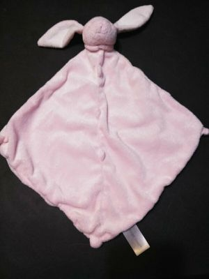 "Angel Dear Pink Bunny Rabbit Security Blanket Baby Lovie Blankiet 12"" X 12"" for Sale for sale  Las Vegas, NV"