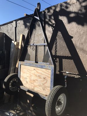 Utility trailer. Good condition, ready for work. for Sale in Los Angeles, CA