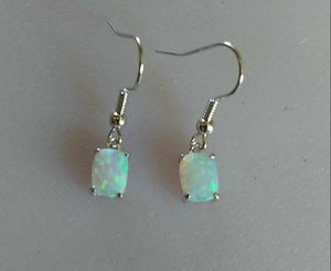 NEW 4-CTW White Fire Opal & 925-SS Dangle Earrings for Sale in Denver, CO
