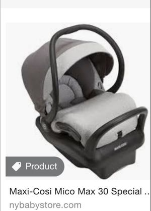 Maxi cosi mico 30 special edition infant car seat for Sale in Delmar, NY