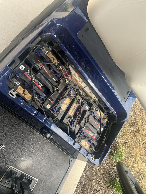 December 2018 PD+ OEM Golf Cart Batteries 6 x 8 Volt