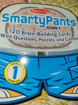 Melissa & Doug Smarty Pants Grade 1 brain building Cards for Sale in Richmond, VA