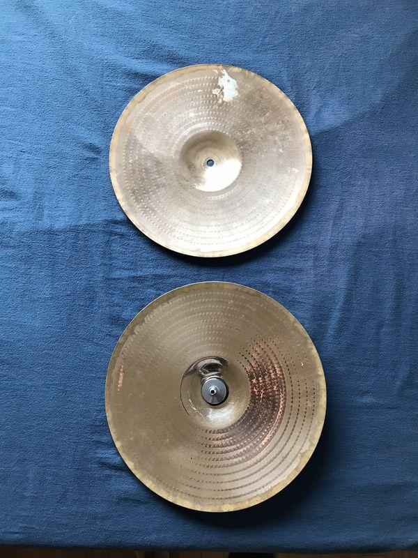 """Zildjian 14"""" Hi Hat Symbols"""