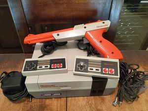 Nintendo with 36 games and a power pad for Sale in Fresno, CA