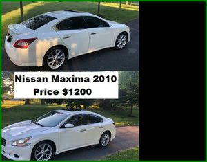 ֆ12OO_2010 Nissan Maxima S for Sale in Burbank, CA