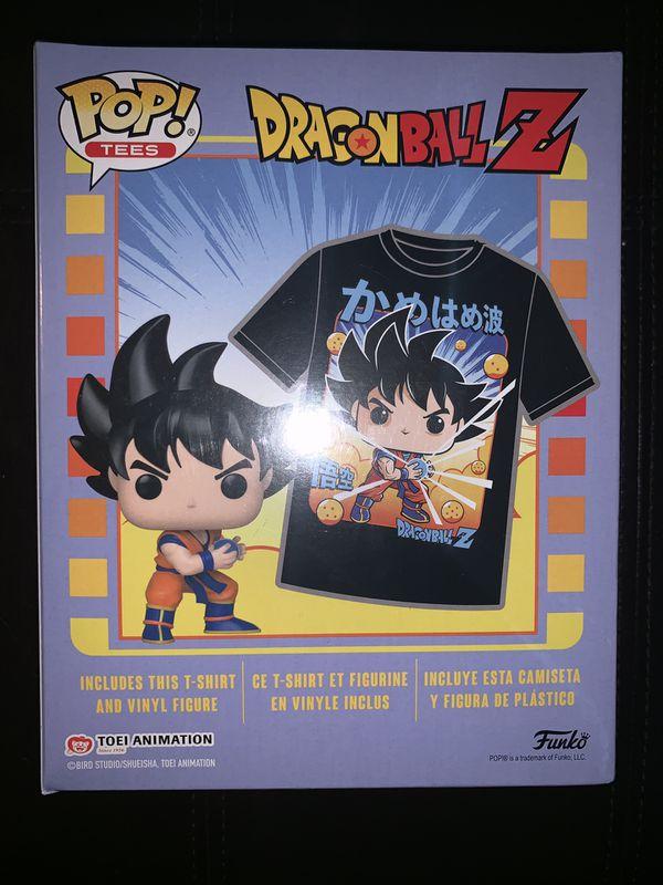 POP! Tees: Dragon Ball Z Goku T-Shirt - Medium