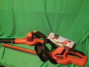 Black & Decker Garden & Yard Tools Bundle for Sale in Beaumont, CA