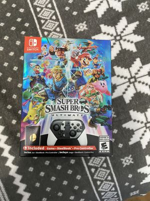 Nintendo switch Super smash bro's ultimate special edition for Sale in San Diego, CA