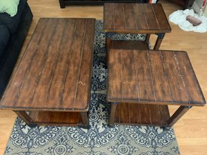 Matching Coffee Table and 2 End Tables for Sale in Phoenix, AZ