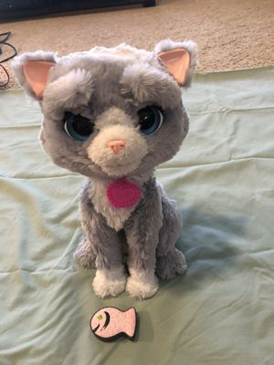 FurReal Friends Bootsie The Cat From Hasbro for Sale in Houston, TX