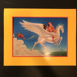 Disney's HERCULES, Exclusive Commemorative Lithograph 1996, NEW with it's original packaging for Sale in Bethesda, MD