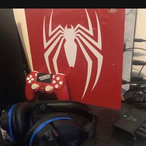 Spider-Man ps4 pro console for Sale in Garden Grove, CA