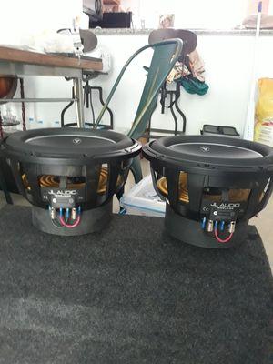 JL audio 12w6v3-d4 pair for Sale in HALNDLE BCH, FL