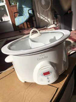 RIVAL CROCK POT SMART POT 6 QT Programmable Stoneware Slow Cooker for Sale in Tampa,  FL