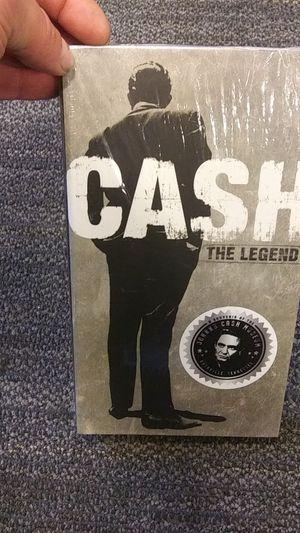 Johnny cash the Legend CD/DVD box set for Sale in Nashville, TN