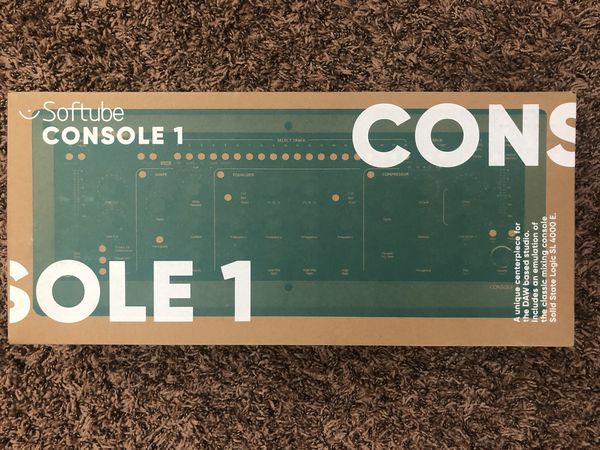 Softube Console 1 MKII Channel Strip Controller Hardware/Software Mixer