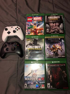 Xbox games and controllers for Sale in Tustin, CA