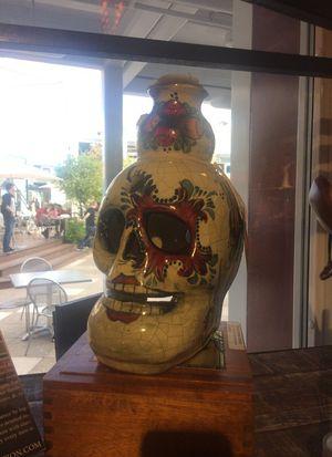 Skull: Hand Molded Ceramic Skull Candle Holder for Sale in Las Vegas, NV