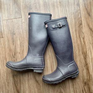 Hunter original tall rain boots 8 for Sale in Chicago, IL
