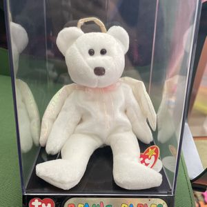Beanie Babies : Halo The Guardian Angel Bear 1998 for Sale in Laurel, MD