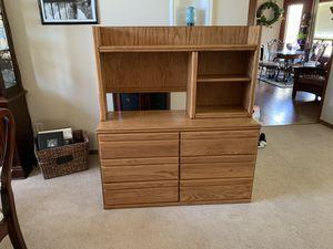 Oak Dresser for Sale in Goddard, KS