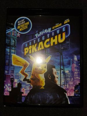 *NEW* Pokémon's Detective Pikachu 4K UHD/HDR Bluray for Sale in Spring, TX