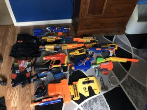 Selling various nerf guns! for Sale in Apollo Beach, FL