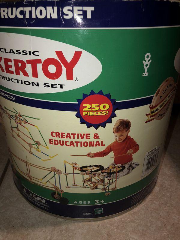 Rare Classic Tinkertoy Ultra Construction Set