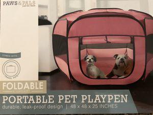 Paws & Pals portable pet playpen for Sale in Renton, WA