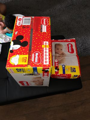 Huggies 1 month diapers for Sale in Mesquite, TX
