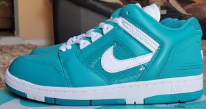 """Supreme x Nike Air Force 2 """"Emerald Blue"""" Size 10 