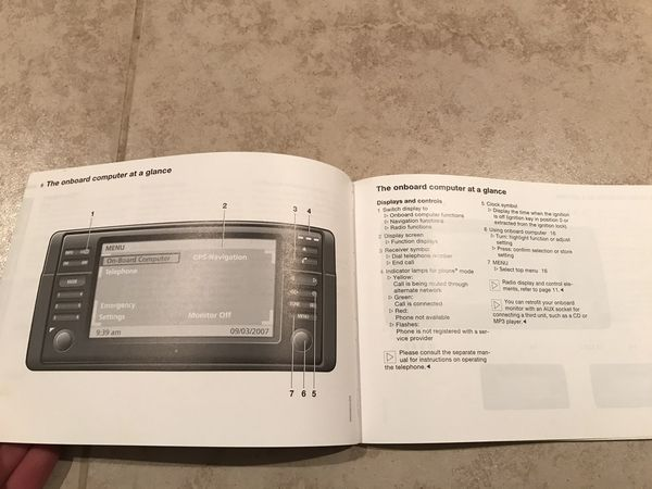 2003 BMW M3 Convertible Owners Manual - Complete w/ Bluetooth DVD Radio info