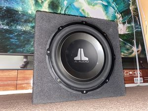 "JL Audio 12"" inch Subwoofer for Sale in Fontana, CA"