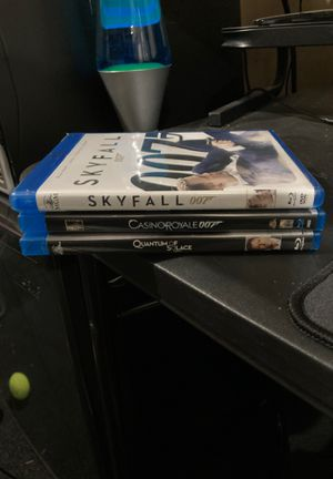 Bluray Bond Movies for Sale in Maple Valley, WA