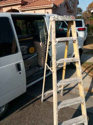 Husky ladder for sale plastic lightweight six foot for Sale in Richland, MO