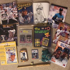 Ken Griffey Jr baseball fan box #1 for Sale in Elk Grove, CA