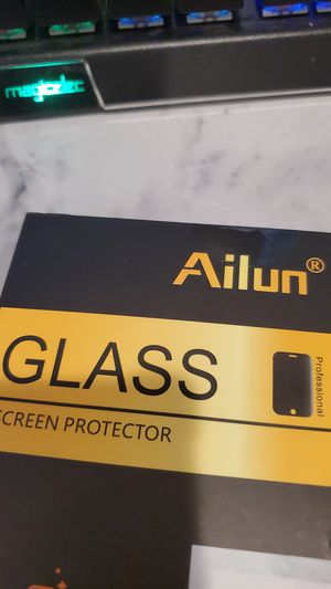 iPhone xr screen protector glass for Sale in Baldwin Park, CA